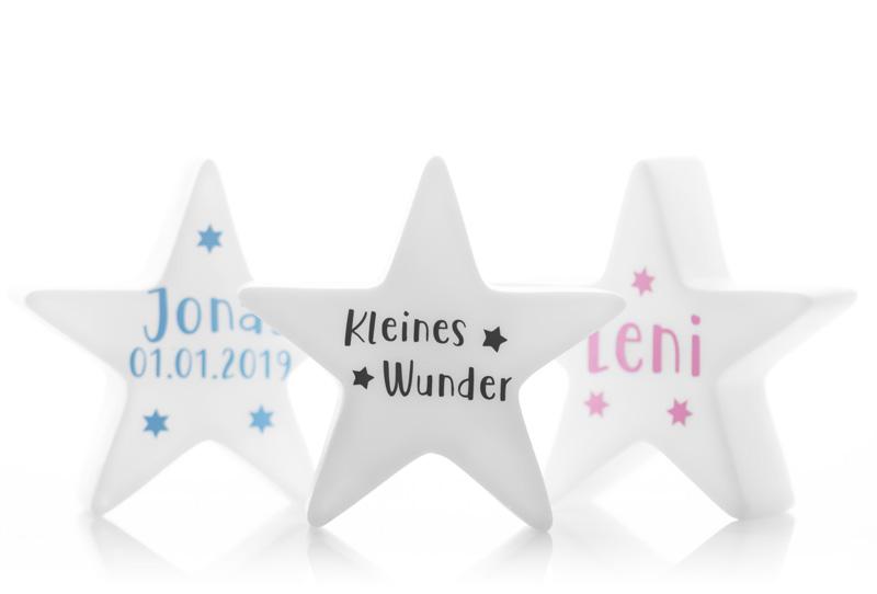 """Angelicart LED Stern Lampe Kinderzimmer """"Kleines Wunder"""""""